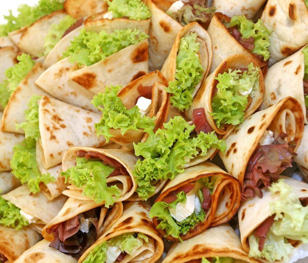 Wraps, Salat